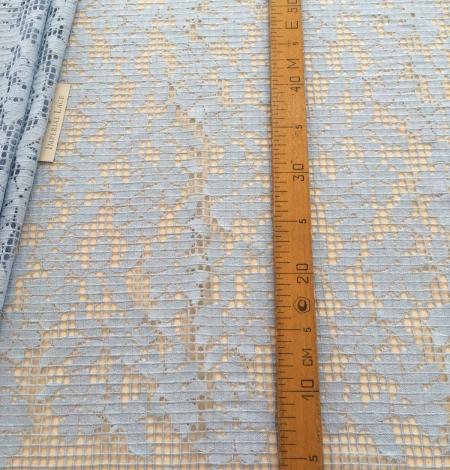 Blue lace fabric. Photo 10