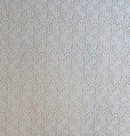 Piena balta guipure mežģīņu audums. Photo 7