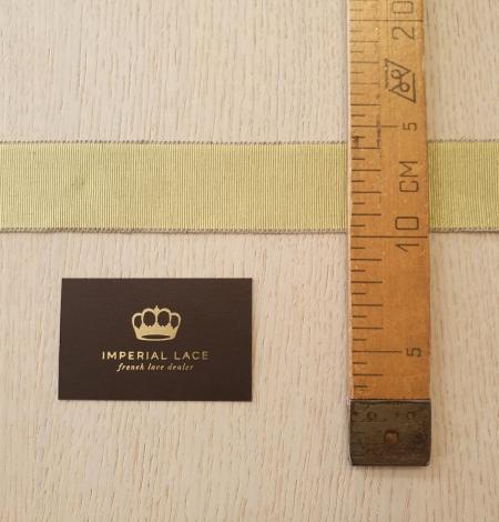 Pistācijas zaļās grosgrain lentes linu lentes aplikācija. Photo 6