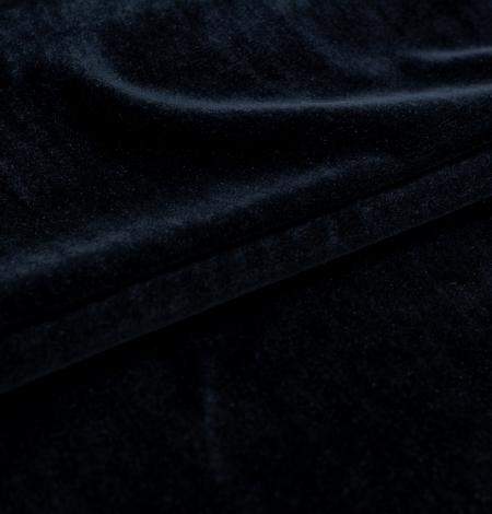 Grafīta pelēka zīda samta audums. Photo 2