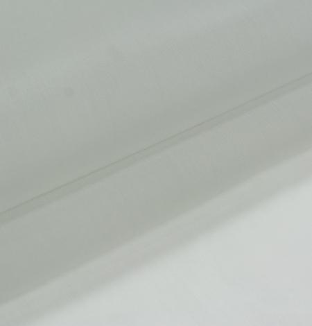 Gaiši pelēks zīda organzas audums. Photo 4