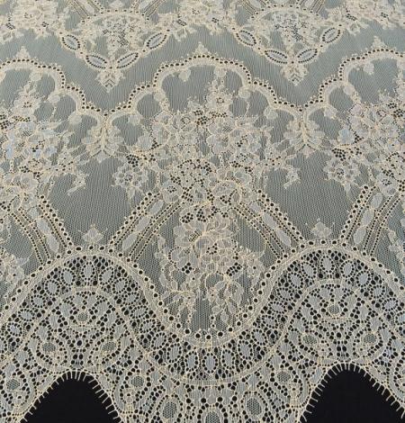 Ziloņkaula ar Zeltu Chantilly mežģine. Photo 3
