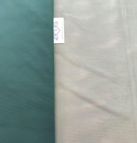Zaļš tilla audums. Photo 10