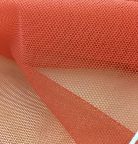 Oranžas krāsas tilla audums. Photo 5