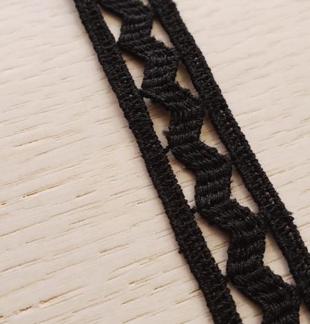 Melna kokvilnas mežģīnes maliņa. Photo 3