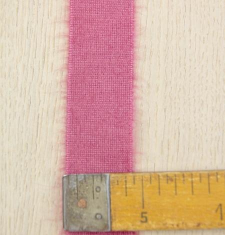 Aveņu rozā lana vilna lenta. Photo 5