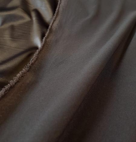 Tumši pelēks satīna audums ar elastānu. Photo 2