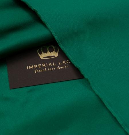 Rubīna zaļš zīda duchess audums. Photo 4