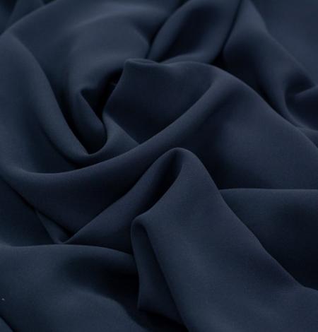 Tumši pelēki zils zīda krepa audums. Photo 5