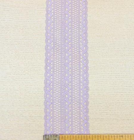 Lavandas violeta macrame mežģīņu maliņa. Photo 9