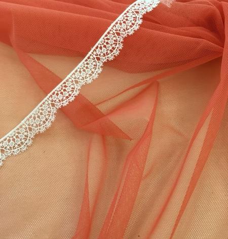 Oranžas krāsas tilla audums. Photo 3